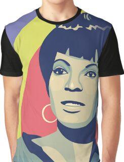 Nichelle Nichols (Uhura) Graphic T-Shirt
