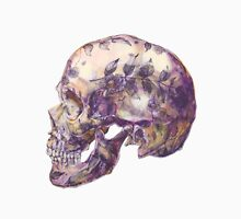 purple skull Unisex T-Shirt
