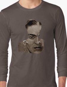 FRIDA - shirt version - sepia Long Sleeve T-Shirt