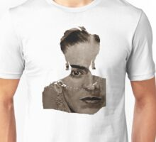 FRIDA - shirt version - sepia Unisex T-Shirt
