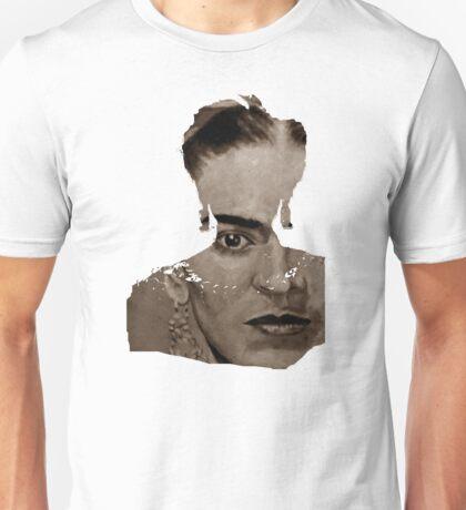 FRIDA - shirt version - sepia Unisex T-Shirt
