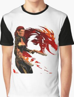 Guild Wars 2 - A human shooter Graphic T-Shirt