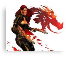 Guild Wars 2 - A human shooter Metal Print