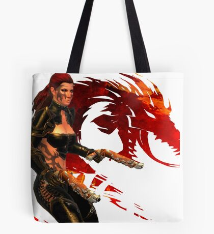 Guild Wars 2 - A human shooter Tote Bag