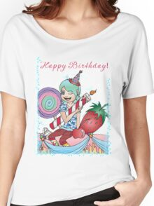 Happy Birthday Girl! Women's Relaxed Fit T-Shirt