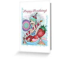 Happy Birthday Girl! Greeting Card