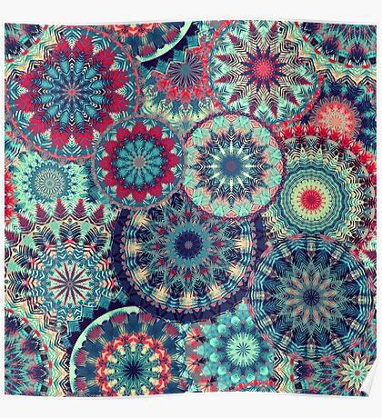 Mandala (Floral 001) Poster