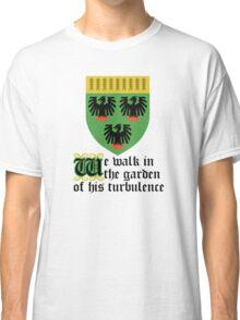 We walk in the garden of his turbulence Classic T-Shirt
