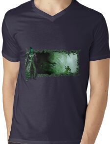 Guild Wars 2 - A sylvari story Mens V-Neck T-Shirt
