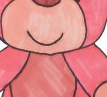 Pink Teddy Bear Sticker