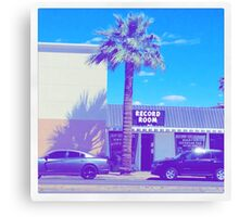 DOWNTOWN PALM TREE AESTHETIC  Canvas Print
