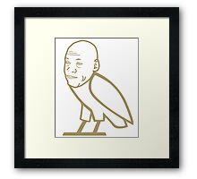 OVO Crying Jordan Framed Print