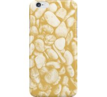 Stone Warmth Design (Spicy Mustard Color) iPhone Case/Skin