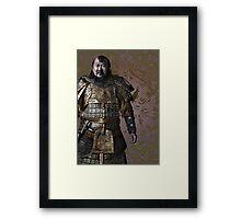 Kublai Khan Framed Print