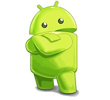 android logo Photographic Print