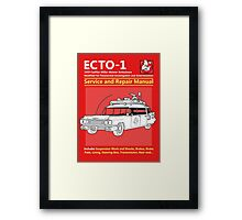 ECTO-1 Service and Repair Manual Framed Print
