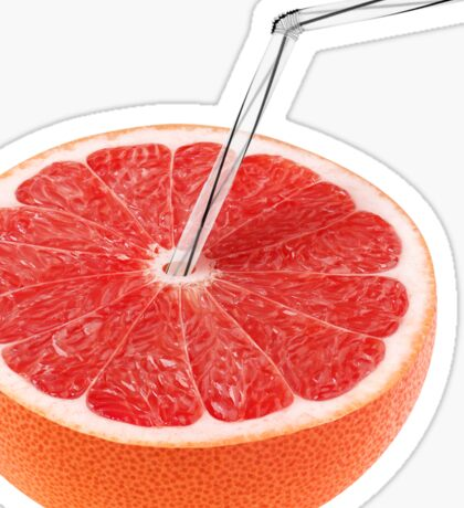 Grapefruit juice Sticker