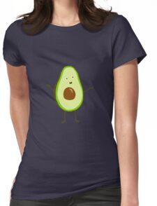 Mr Avocado Womens Fitted T-Shirt