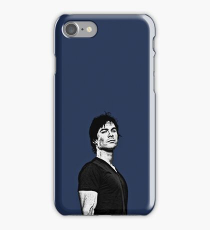 Ian Somerhalder / Damon Salvatore iPhone Case/Skin