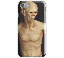 Portrait of a Creature iPhone Case/Skin