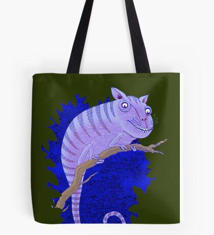 Cheshire Cat Chameleon Tote Bag