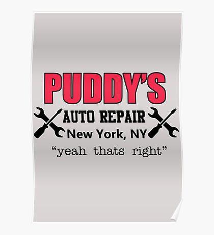 Seinfeld - Puddy's Auto Repair Poster