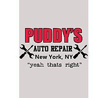 Seinfeld - Puddy's Auto Repair Photographic Print