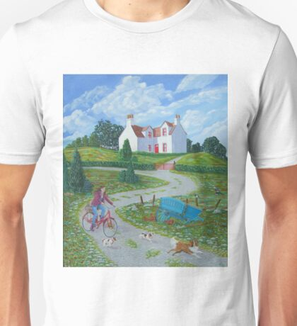 Four Winds Irish Landscape Unisex T-Shirt