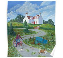 Four Winds Irish Landscape Poster