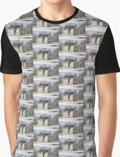 Shaker White House Graphic T-Shirt