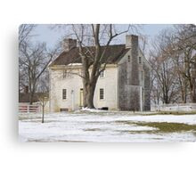 Shaker White House Canvas Print