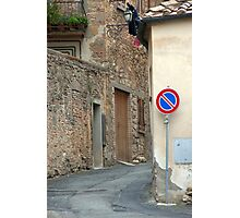 Too Narrow For Cars Photographic Print