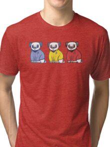 Pug Trek Tri-blend T-Shirt