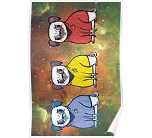 Pug Trek Poster