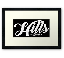 Hills Official Framed Print