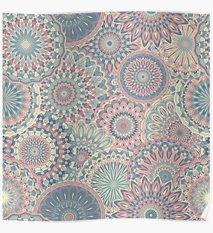 Mandala (Floral 002) Poster