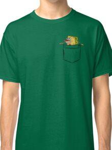 Caveman Spongebob (Primitive Spongegar) Pocket Shirt - Spongebob Classic T-Shirt