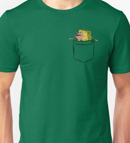 Caveman Spongebob (Primitive Spongegar) Pocket Shirt - Spongebob Unisex T-Shirt