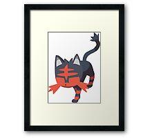 Litten (Pokemon) Framed Print