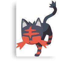 Litten (Pokemon) Canvas Print