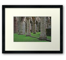 Columns & Arches, Tintern Framed Print