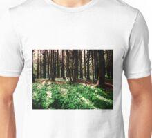 Forest Floor....Neptune Beach, Yachats, Oregon Unisex T-Shirt