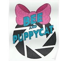 Bee and PortalCat Logo Poster