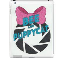 Bee and PortalCat Logo iPad Case/Skin