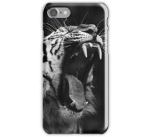 Tiger black and white iPhone Case/Skin