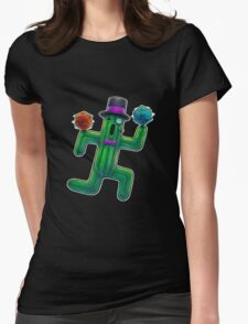 Rollin' D20s Womens Fitted T-Shirt