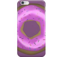 Delicious Pink Doughnut with Sprinkles iPhone Case/Skin