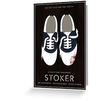 Stoker film poster Greeting Card