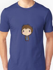 Kawaii Doctor Who Chibi (David Tennant) Glasgow Unisex T-Shirt