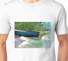 Watching the waves  Unisex T-Shirt